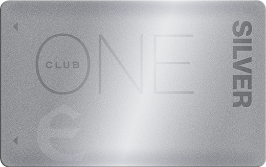 Silver ONE Club Card